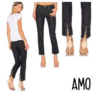 Anthropology AMO BOW jeans soft raw size 27